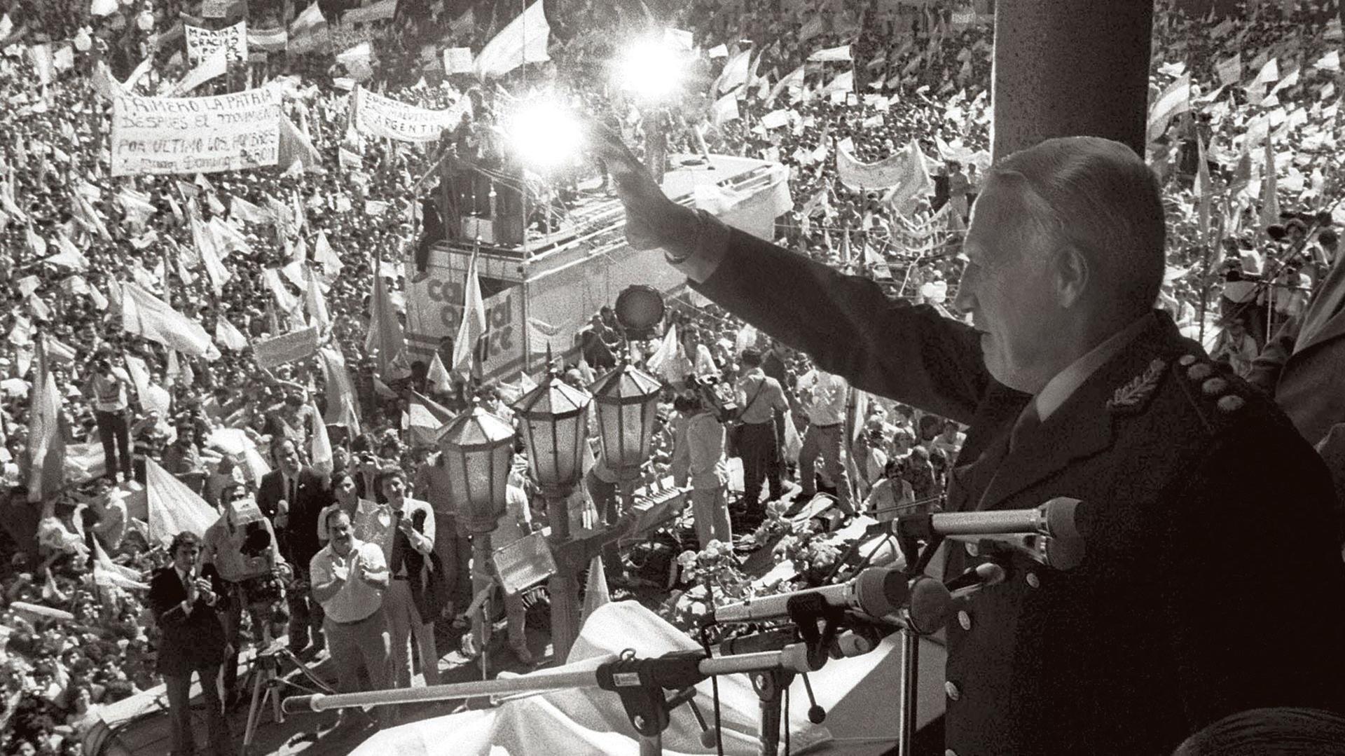Audio de 1982: Cómo se anunció la «recuperación» de Malvinas – Viento Sur Noticias
